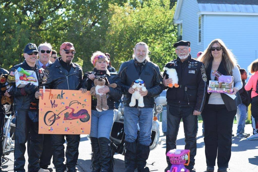 Erie Canal Harley Owners Group makes annual stop at TNC!