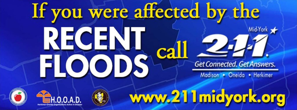 Flooding Assistance - Call 2-1-1