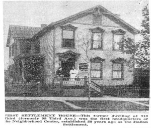 Photo of First Settlement House