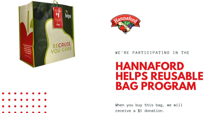 The Neighborhood Center Celebrates Selection as a Hannaford Helps Reusable Bag Program Beneficiary